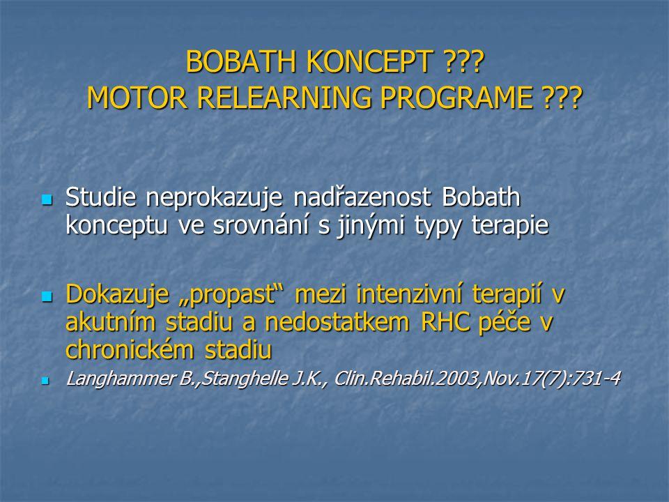 BOBATH KONCEPT ??.MOTOR RELEARNING PROGRAME ??.