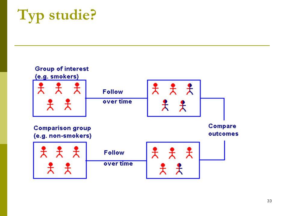 33 Typ studie