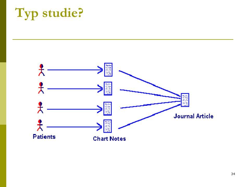 34 Typ studie