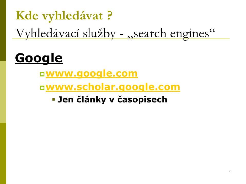 37 Národní lékařská knihovna v Praze Služby www.nlk.cz  Katalogy a databáze  MEDVIK  Česká lékařská bibliografie (BMC)