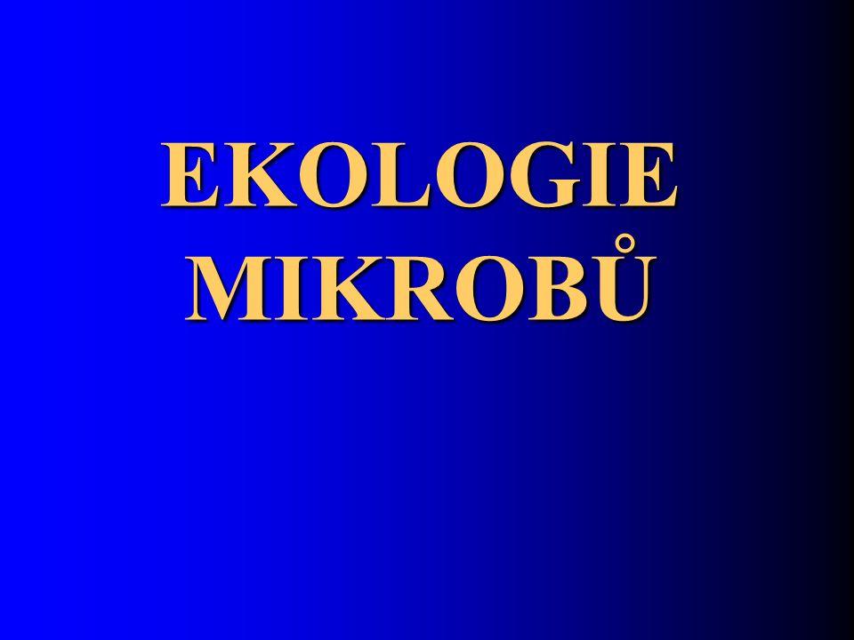 Vztahy mezi mikroby a makroorganismem Komenzalismus - mikrobi a hostitel si navzájem neškodí, např.