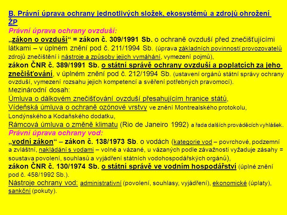 Právní úprava ochrany půdy: zákon č.334/1992 Sb.