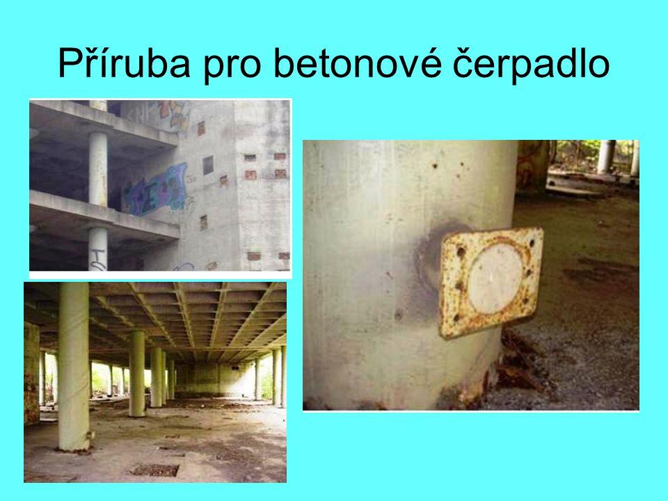 Příruba pro betonové čerpadlo