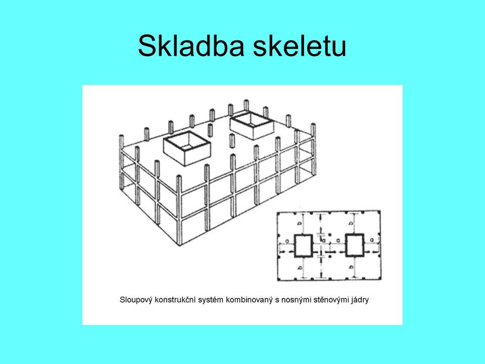 Zdvihané stropy Monolitické stropní konstrukce pro všechna podlaží se vyrábí přímo na stavbě v nejnižším podlaží a to tak, že leží jedna na druhé.