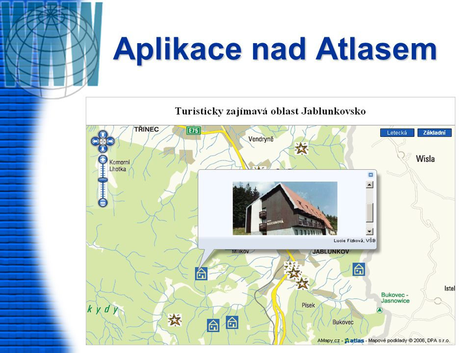 Aplikace nad Atlasem