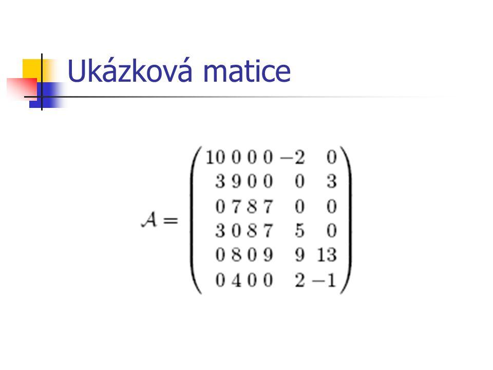 Multidimenzionální přístup Založeno na rozsahových dotazech Obecná podmatice A i1,j1,i2,j2 – rozsahový dotaz (i1, j1) : (i2, j2) Sloupcový vektor – (1, i) : (n, i) Řádkový vektor – (j, 1) : (j, m) Úzké rozsahové dotazy