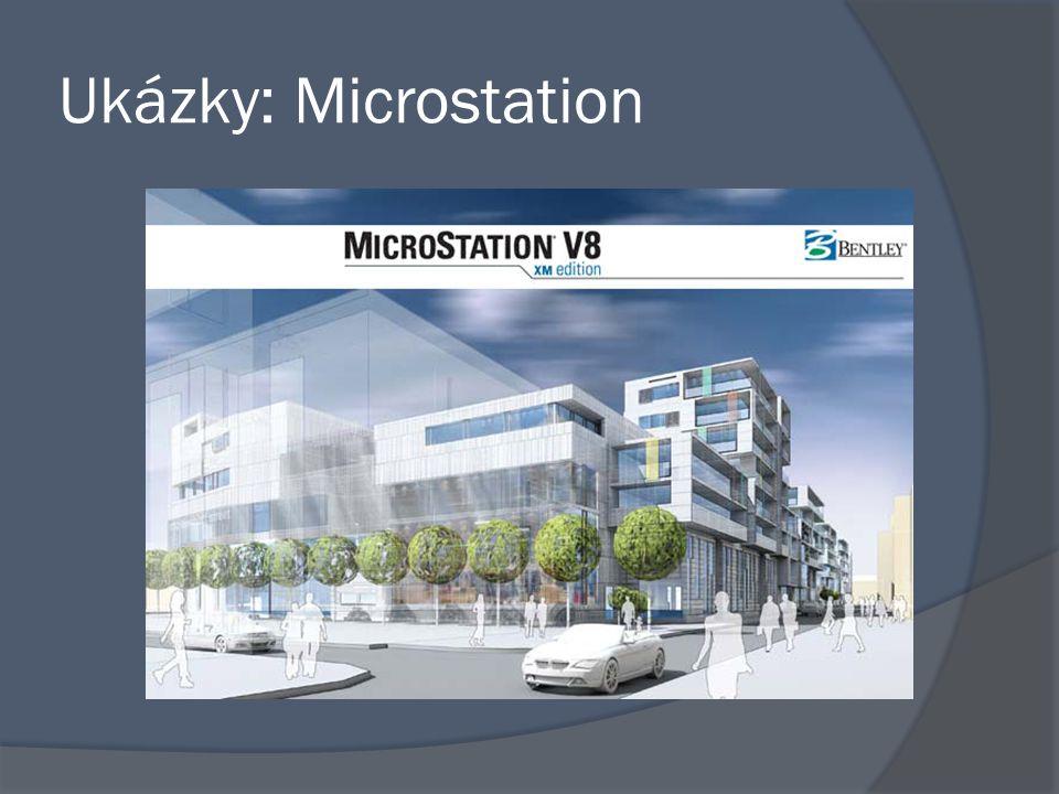 Ukázky: Microstation