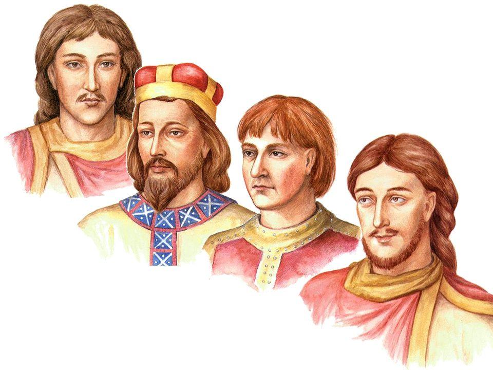 Připoj, co patří knížeti BŘETISLAV I.VRATISLAV I.