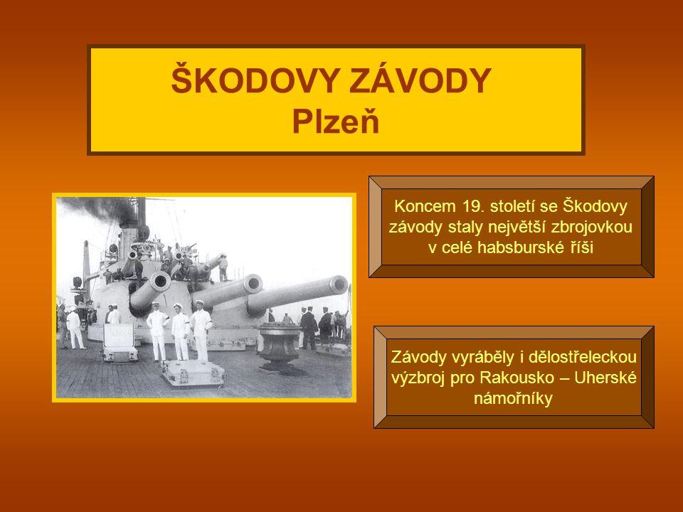 Byly založeny Václavem Laurinem a Václavem Klementem ŠKODOVY ZÁVODY v Mladé Boleslavi