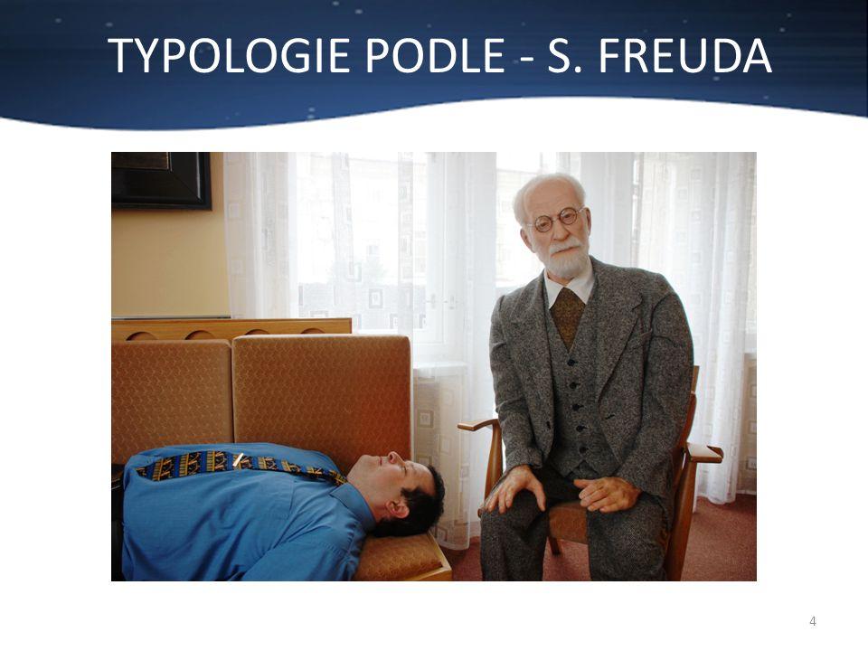TYPOLOGIE PODLE - S. FREUDA 4