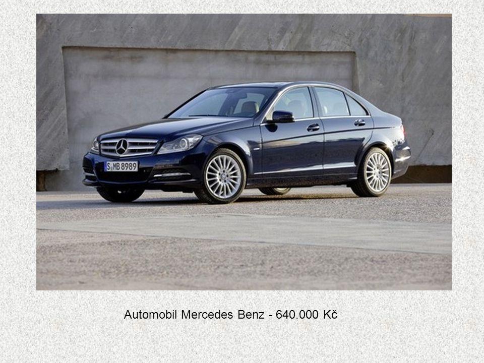 Automobil Mercedes Benz - 640.000 Kč