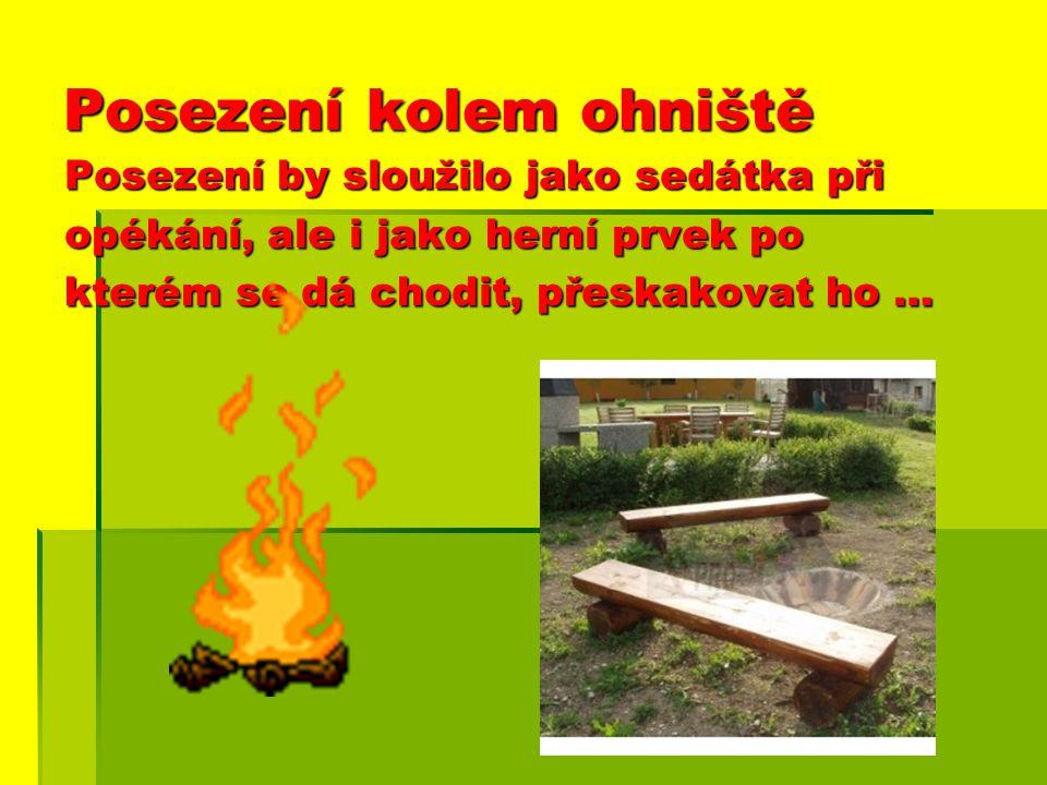Oheň – Děti poznávají vlastnosti ohně ( vydává světlo, pálí, voní, hřeje, upravuje potraviny, co hoří, nehoří…) a učí se respektovat ho, dávat si pozo