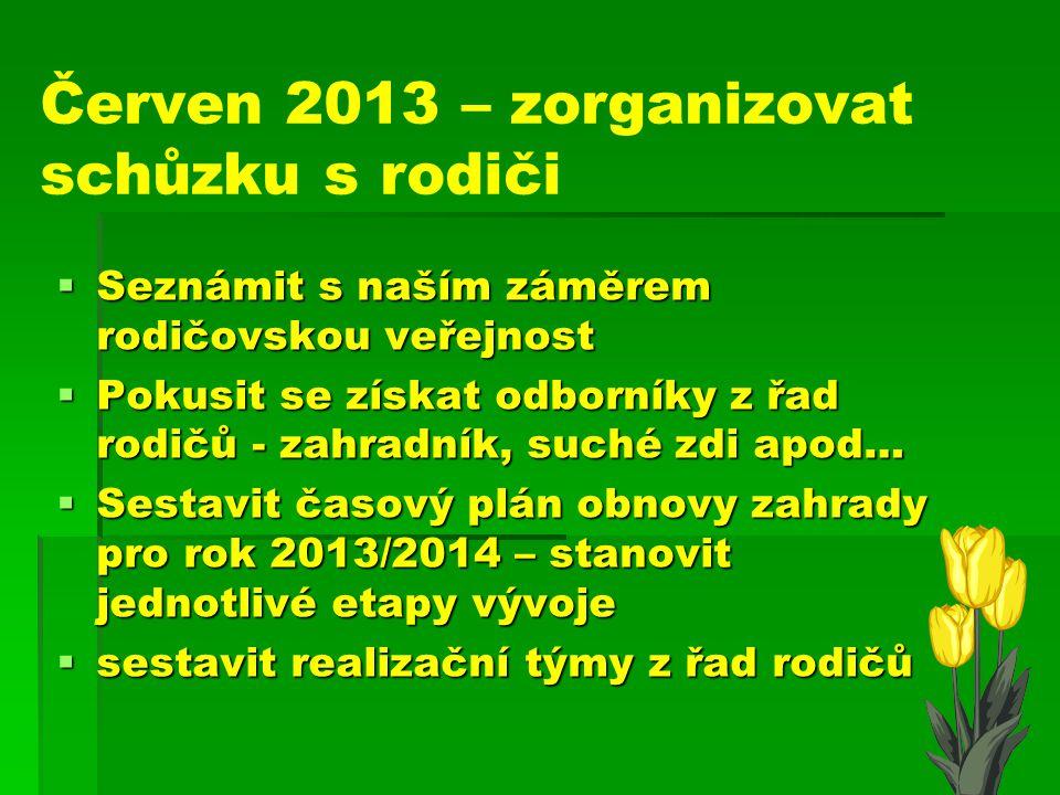Květen 2013 SSSSeznámit spolu s naším záměrem starostu MČ Koloděje, domluvit spolupráci s obcí, možnosti financování… PPPPo dohodě s městskou