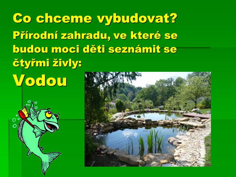 PPPProstředí, které jim umožní svobodný a samostatný pohyb po zahradě, dá jim možnost objevovat, pozorovat, zkoumat…..