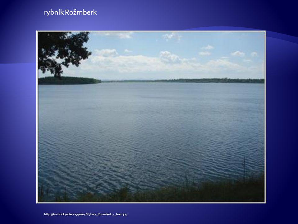http://turistickyatlas.cz/galery/Rybnik_Rozmberk_-_hraz.jpg rybník Rožmberk