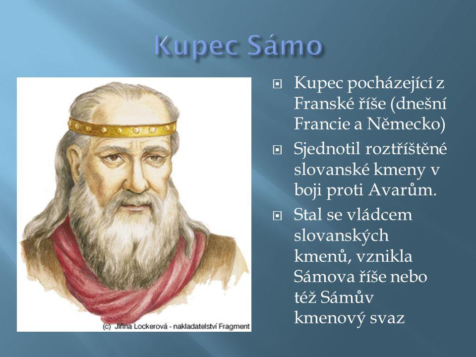  Přesná poloha Sámovy říše není jasná (nejasnosti jsou kolem její severní a východní hranice)  Centrum Sámovy říše bylo pravděpodobně na území dnešní Moravy