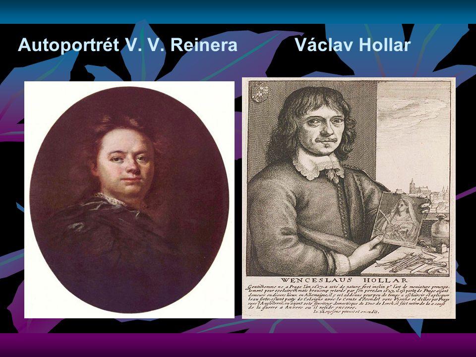 Autoportrét V. V. Reinera Václav Hollar