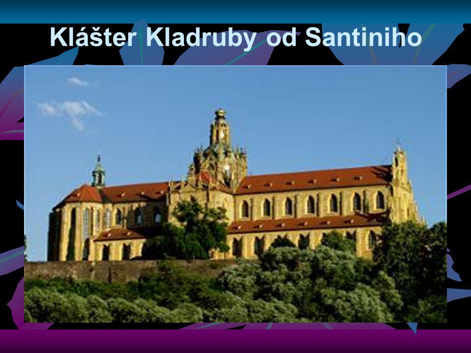 Klášter Kladruby od Santiniho