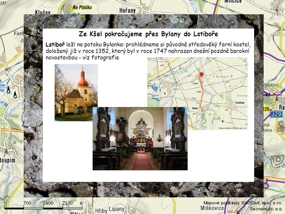 Z Lipan půjdeme dále do Vitic, prohlédneme si gotický kostel sv.