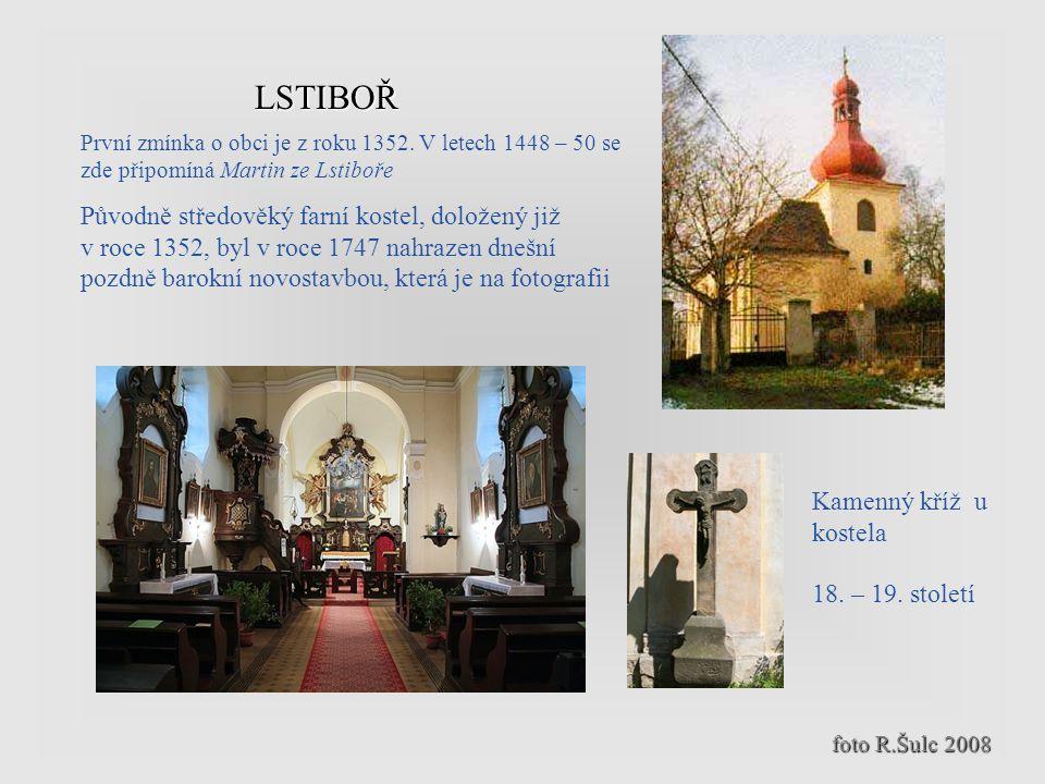 Katastrální součástí Klučova jsou obce Lstiboř, Skramníky a Žhery Lstiboř leží na potoku Bylanka, 3,5 kilometru východně od Českého Brodu (22 kilometr