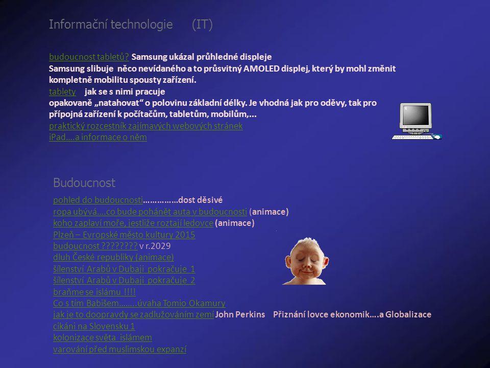 Informační technologie (IT) budoucnost tabletů?budoucnost tabletů.