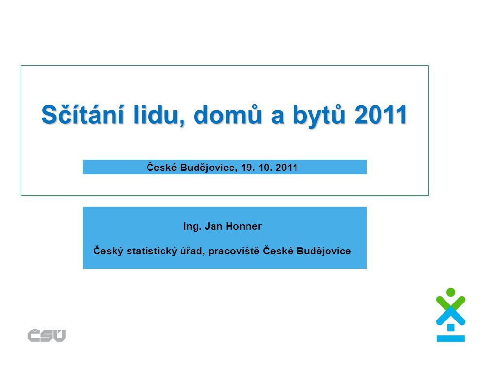 Sčítání lidu, domů a bytů 2011 České Budějovice, 19.