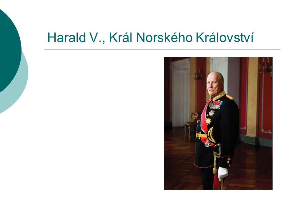 Harald V., Král Norského Království