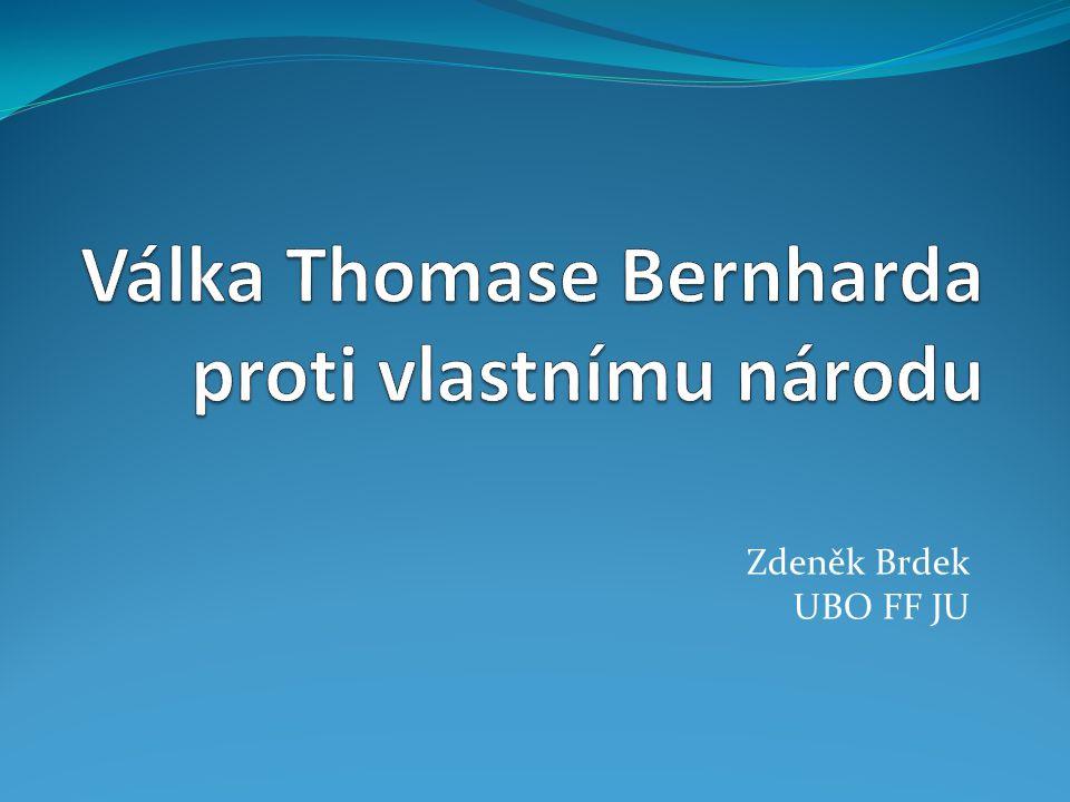 Zdeněk Brdek UBO FF JU