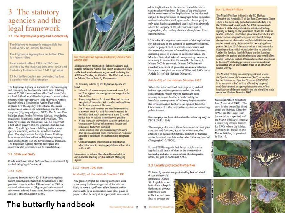 The butterfly handbook