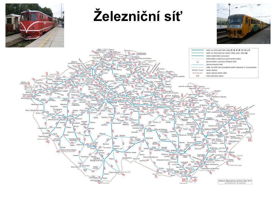 Železniční síť