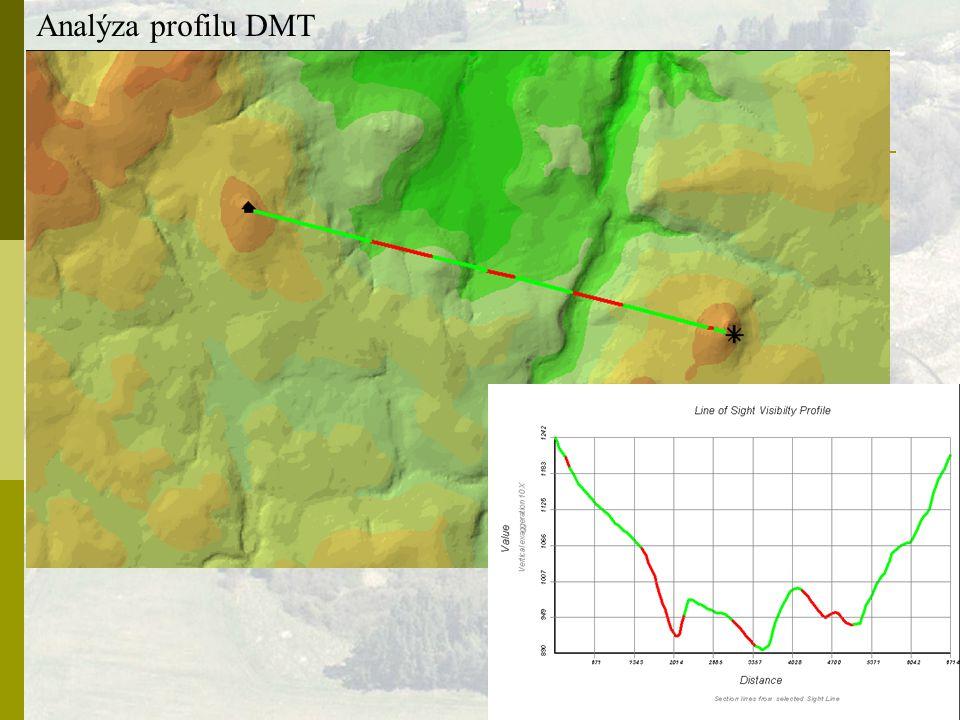 Analýza profilu DMT