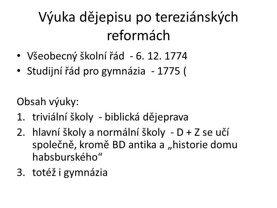 Učebnice Aleš Pařízek Versuch einer Geschichte Böhmens für den Bürger…( 1.