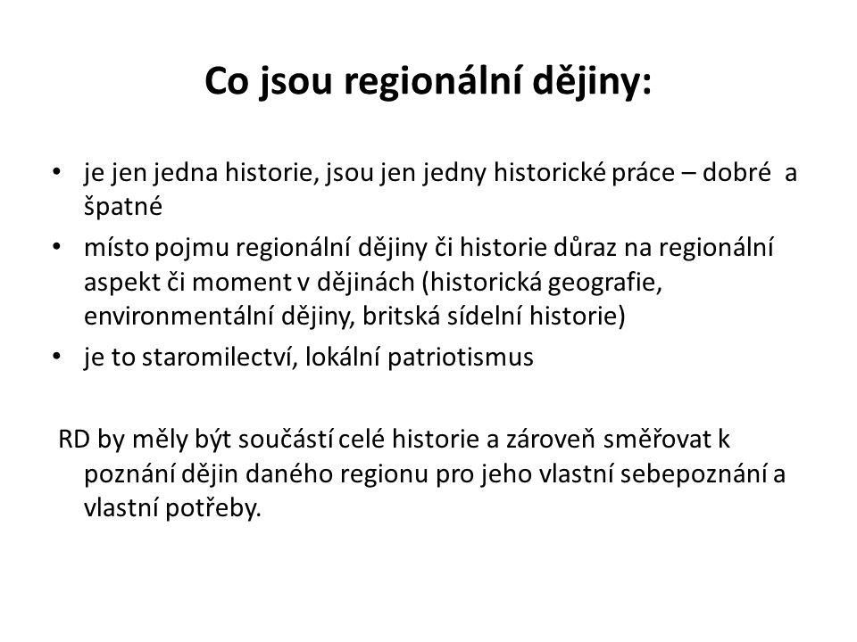 RD a dějepisná výuka – je třeba zařazovat RD do výuky, protože: využití didaktických principů ( konkrétnost a blízkost) akcent na RD prohlubuje vztah k místu, kde Ž žijí, úctu ke kulturnímu dědictví, vytváří a posiluje potřebu ochrany historických a přírodních památek regionální tematika je optimální zdroj pro badatelskou práci a zájmovou činnost žáků Pro rozvoj regionálního bádání má význam vlastní výzkumná činnost učitelů