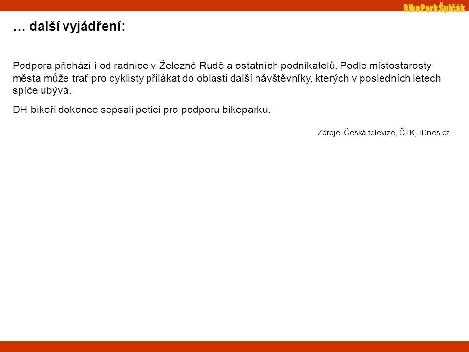 BikePark Špičák stav kauzy k 5.11.07 : Českobudějovický odbor MŽP rozhodl, že firma Sport Service s.r.o.