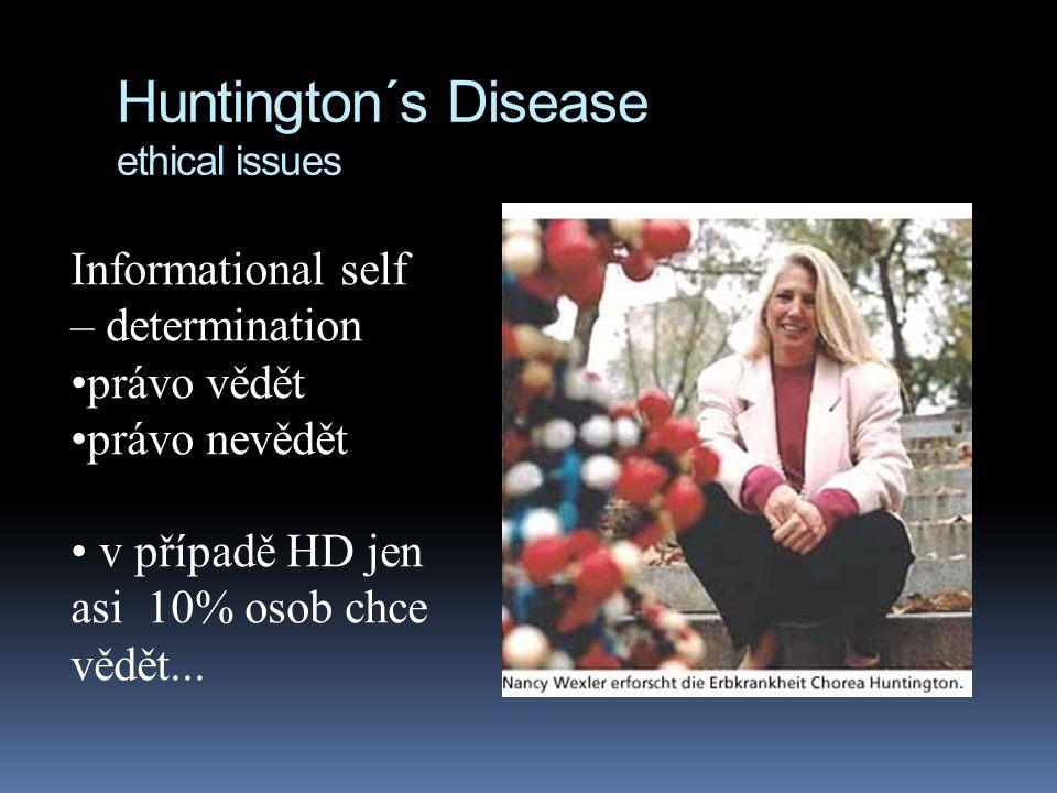 Huntingtonova choroba etické problémy  Nancy Wexler