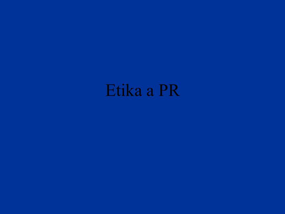 Etika a PR