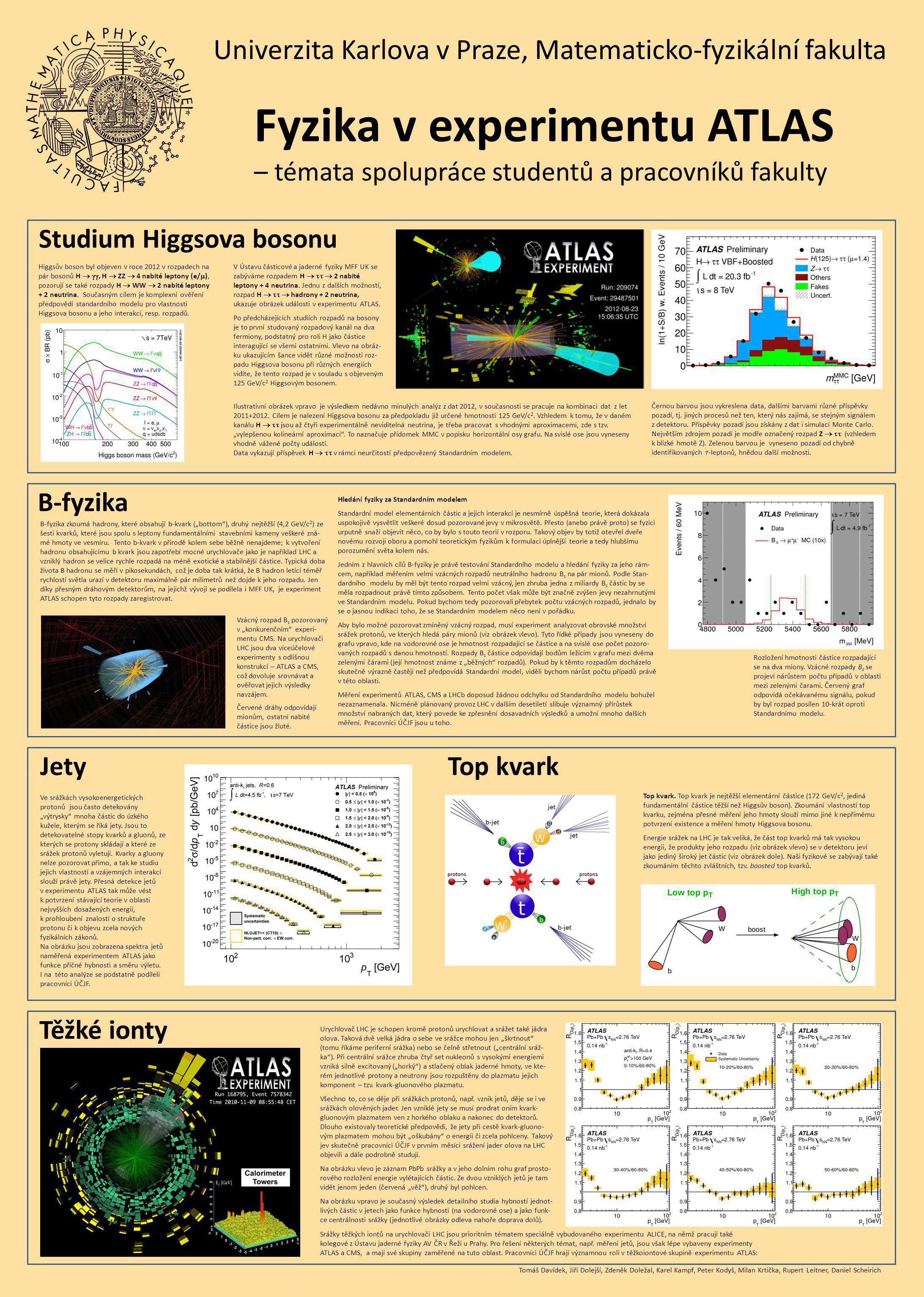Ilustrativní obrázek vpravo je výsledkem nedávno minulých analýz z dat 2012, v současnosti se pracuje na kombinaci dat z let 2011+2012.