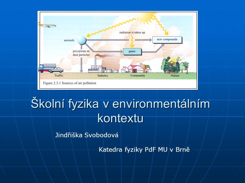 2 Environmentální koncept vzdělávání UNESCO Environmentální koncept vzdělávání UNESCO ( tzv.