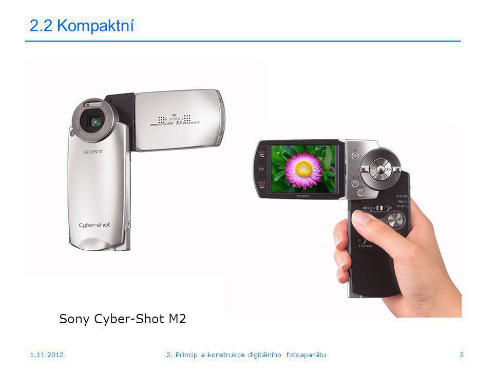 1.11.20122. Princip a konstrukce digitálního fotoaparátu16 2.2 DSLR Konica Minolta Dynax 5D