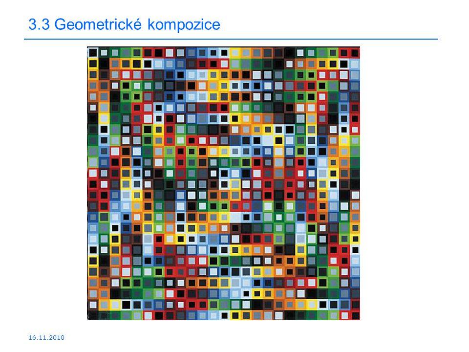 16.11.2010 3.3 Geometrické kompozice