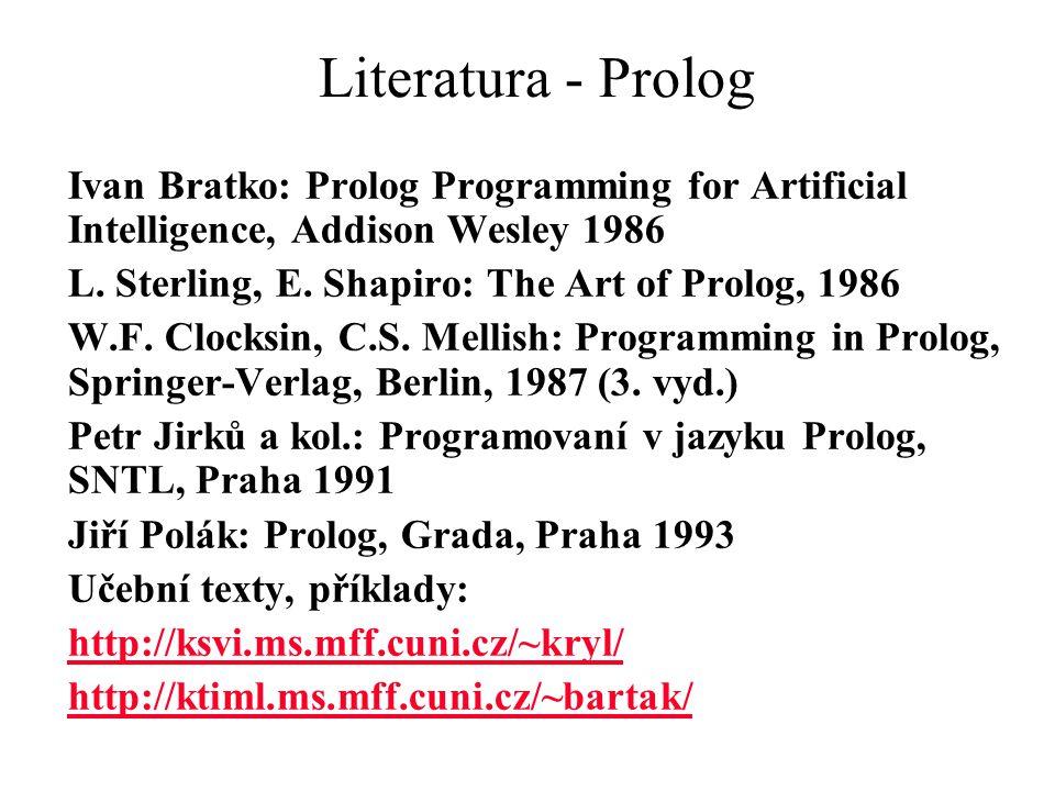 Prolog: Motivační příklad % levá rotace bin.