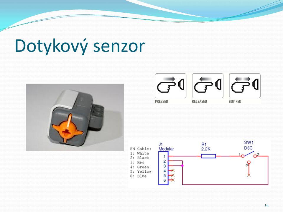 Dotykový senzor 14
