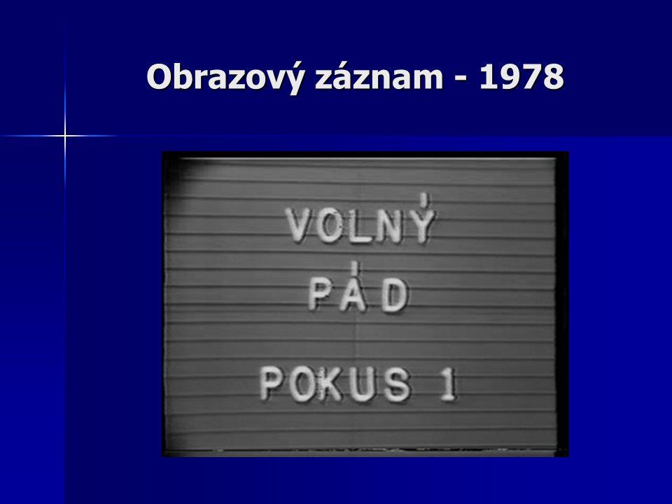 Obrazový záznam - 1978