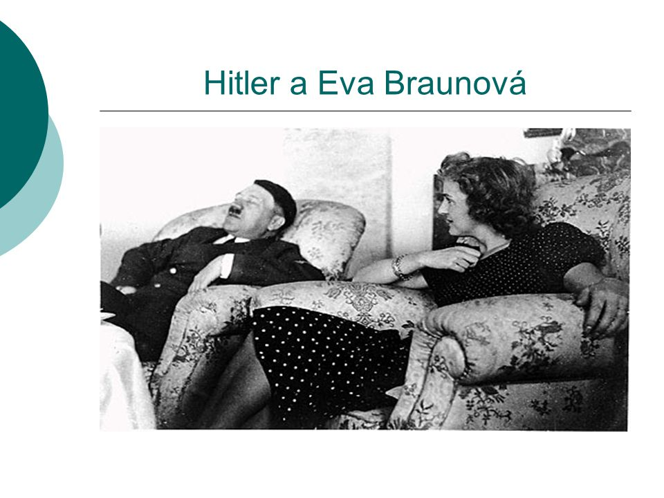 Hitler a Eva Braunová