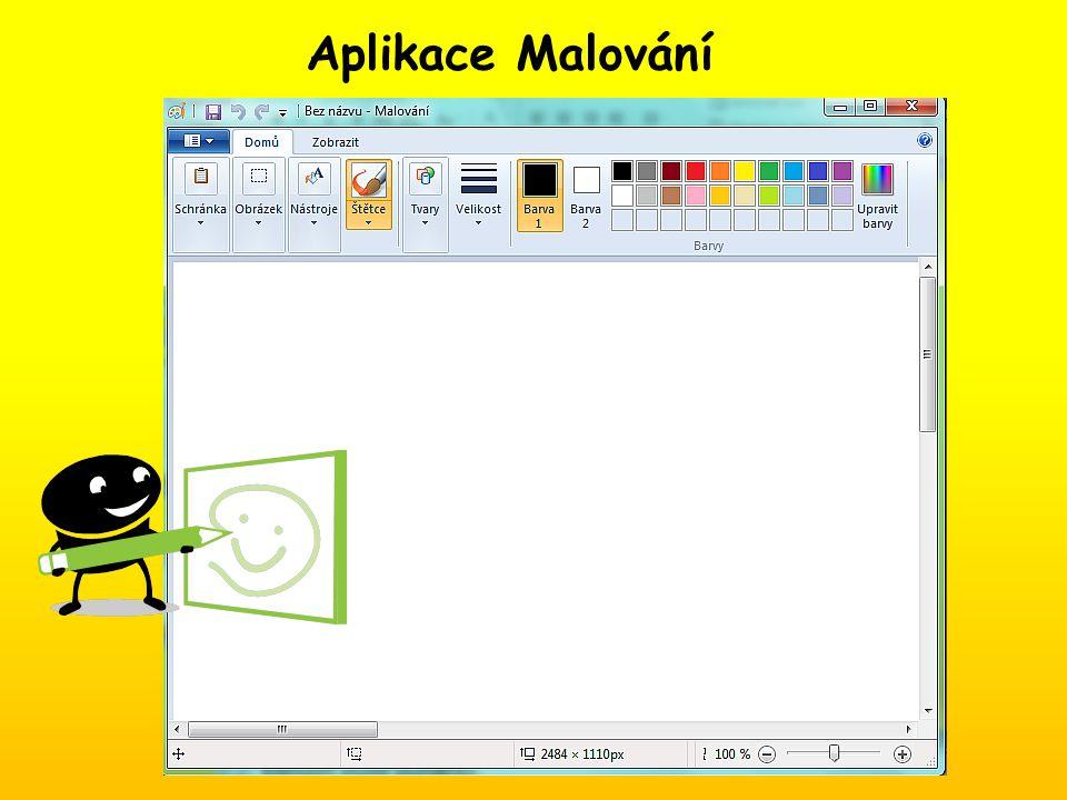 Aplikace Malování