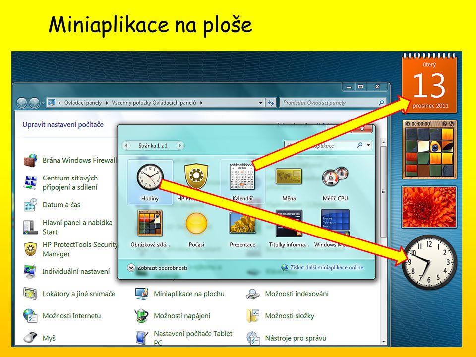 Anotace: Aplikace v OS Windows Očekávaný výstup: Žák se seznamuje s aplikacemi, které jsou součástí OS Windows, učí se je ovládat a výhodně používat.