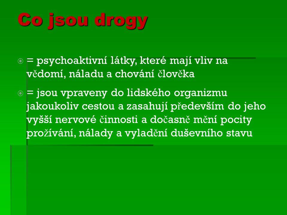 Drogová závislost  Diskuse – jak se projevuje...