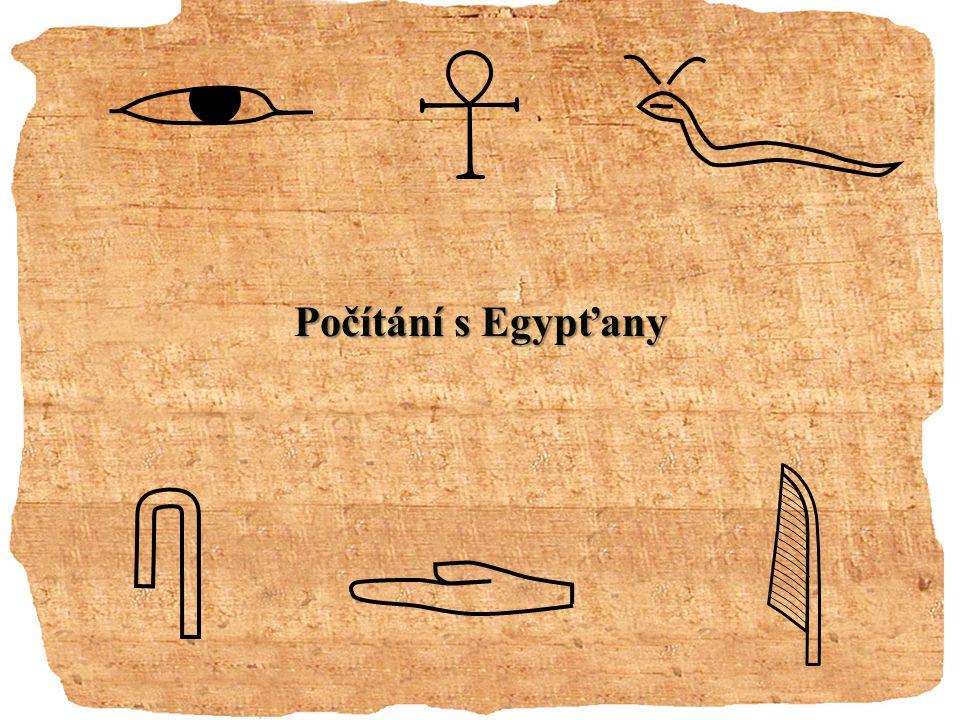Počítání s Egypťany