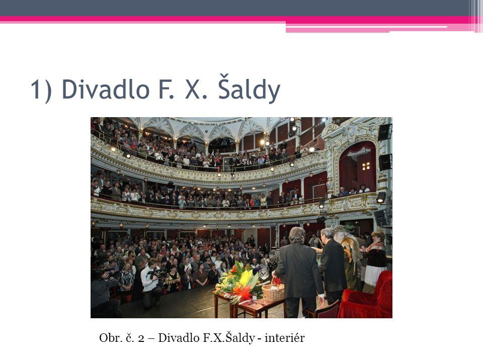 1) Divadlo F. X. Šaldy Obr. č. 2 – Divadlo F.X.Šaldy - interiér