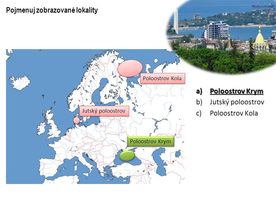 Pojmenuj zobrazované lokality a)Ligurské moře b)Barentsovo moře c)Egejské moře